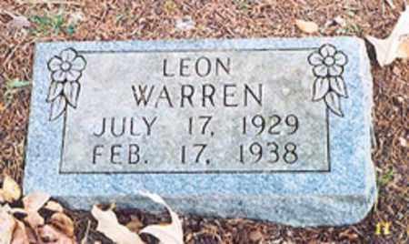 WARREN, LEON - Newton County, Arkansas | LEON WARREN - Arkansas Gravestone Photos