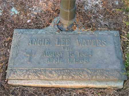 WATERS, ANGIE LEE - Newton County, Arkansas | ANGIE LEE WATERS - Arkansas Gravestone Photos