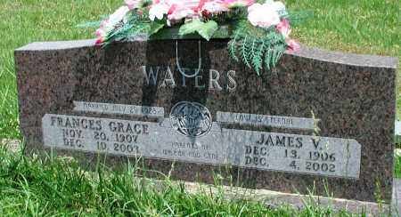 WATERS, FRANCES GRACE - Newton County, Arkansas | FRANCES GRACE WATERS - Arkansas Gravestone Photos