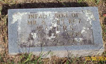WATERS, INFANT SON - Newton County, Arkansas | INFANT SON WATERS - Arkansas Gravestone Photos