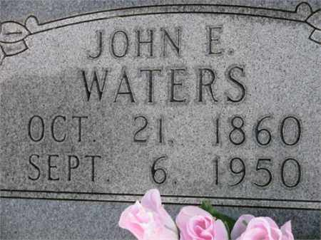 WATERS, JOHN E. - Newton County, Arkansas | JOHN E. WATERS - Arkansas Gravestone Photos