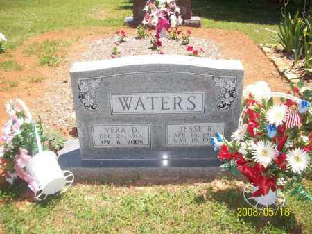 HUDSON WATERS, VERA D - Newton County, Arkansas | VERA D HUDSON WATERS - Arkansas Gravestone Photos