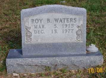 WATERS, ROY B. - Newton County, Arkansas | ROY B. WATERS - Arkansas Gravestone Photos