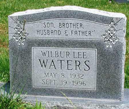 WATERS, WILBUR LEE - Newton County, Arkansas | WILBUR LEE WATERS - Arkansas Gravestone Photos