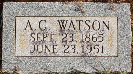 WATSON, A. C. - Newton County, Arkansas | A. C. WATSON - Arkansas Gravestone Photos