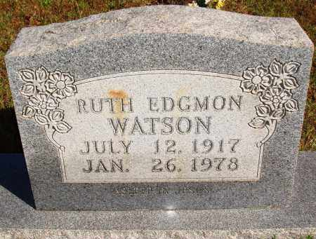 EDGMON WATSON, RUTH - Newton County, Arkansas | RUTH EDGMON WATSON - Arkansas Gravestone Photos
