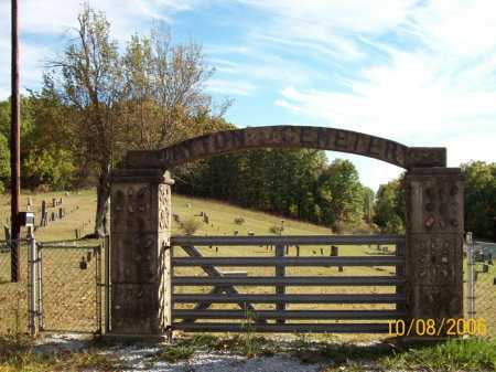 *WAYTON CEMETERY GATE,  - Newton County, Arkansas |  *WAYTON CEMETERY GATE - Arkansas Gravestone Photos