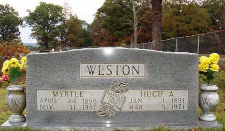 WESTON, MYRTLE - Newton County, Arkansas | MYRTLE WESTON - Arkansas Gravestone Photos