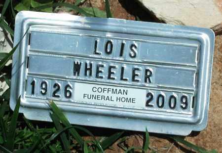 WHEELER, LOIS - Newton County, Arkansas | LOIS WHEELER - Arkansas Gravestone Photos