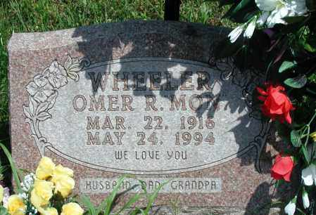 "WHEELER, OMER R ""MON"" - Newton County, Arkansas 