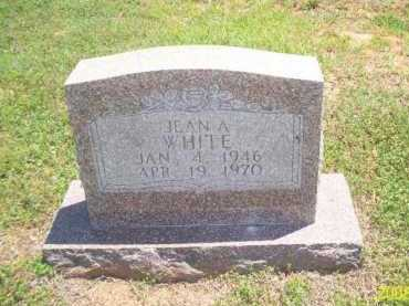 WHITE, JEAN A - Newton County, Arkansas | JEAN A WHITE - Arkansas Gravestone Photos