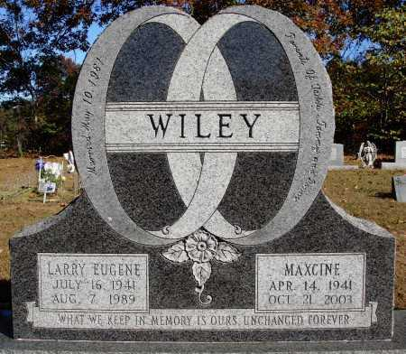 WILEY, LARRY EUGENE - Newton County, Arkansas | LARRY EUGENE WILEY - Arkansas Gravestone Photos