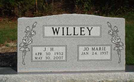 WILLEY, J. H. - Newton County, Arkansas | J. H. WILLEY - Arkansas Gravestone Photos