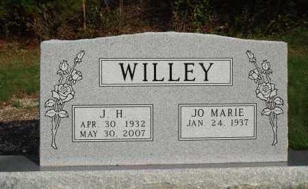 WILLEY, J. H. - Newton County, Arkansas | J. H. WILLEY - Arkansas Gravestone Photos