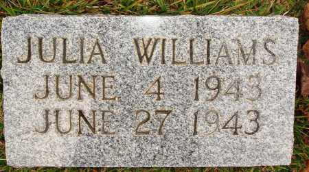 WILLIAM, JULIA - Newton County, Arkansas | JULIA WILLIAM - Arkansas Gravestone Photos