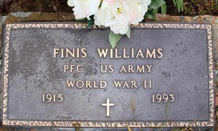 WILLIAMS  (VETERAN WWII), FINIS - Newton County, Arkansas | FINIS WILLIAMS  (VETERAN WWII) - Arkansas Gravestone Photos