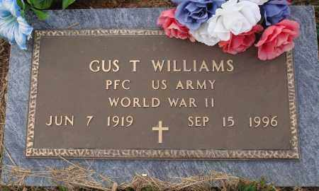 WILLIAMS  (VETERAN WWII), GUS T. - Newton County, Arkansas | GUS T. WILLIAMS  (VETERAN WWII) - Arkansas Gravestone Photos