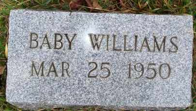 WILLIAMS, BABY - Newton County, Arkansas | BABY WILLIAMS - Arkansas Gravestone Photos