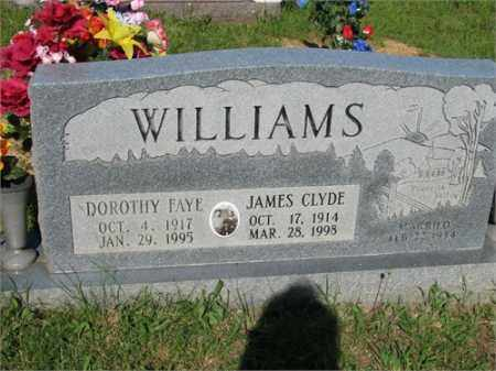 WILLIAMS, JAMES CLYDE - Newton County, Arkansas | JAMES CLYDE WILLIAMS - Arkansas Gravestone Photos