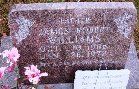 WILLIAMS, JAMES ROBERT - Newton County, Arkansas | JAMES ROBERT WILLIAMS - Arkansas Gravestone Photos