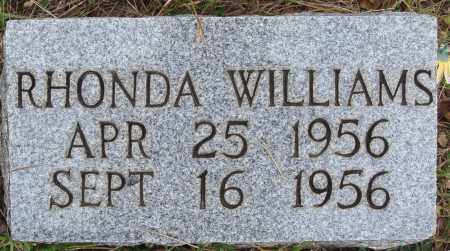 WILLIAMS, RHONDA - Newton County, Arkansas | RHONDA WILLIAMS - Arkansas Gravestone Photos