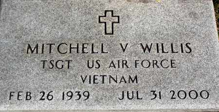 WILLIS  (VETERAN VIET), MITCHELL V - Newton County, Arkansas | MITCHELL V WILLIS  (VETERAN VIET) - Arkansas Gravestone Photos