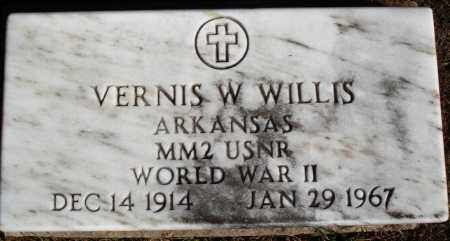 WILLIS  (VETERAN WWII), VERNIS W - Newton County, Arkansas | VERNIS W WILLIS  (VETERAN WWII) - Arkansas Gravestone Photos