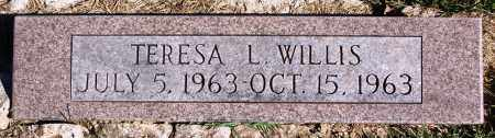 WILLIS, TERESA L. - Newton County, Arkansas | TERESA L. WILLIS - Arkansas Gravestone Photos