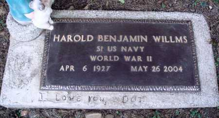 WILLMS  (VETERAN WWII), HAROLD BENJAMIN - Newton County, Arkansas | HAROLD BENJAMIN WILLMS  (VETERAN WWII) - Arkansas Gravestone Photos