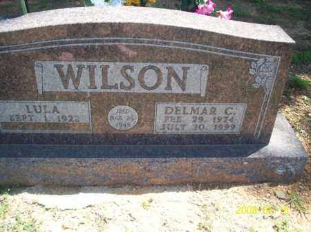 MONOGUE WILSON, LULA - Newton County, Arkansas | LULA MONOGUE WILSON - Arkansas Gravestone Photos