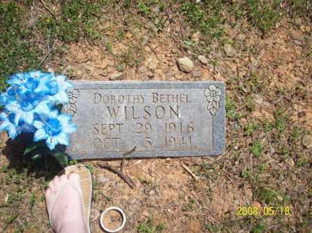 WILSON, DOROTHY BETHEL - Newton County, Arkansas | DOROTHY BETHEL WILSON - Arkansas Gravestone Photos
