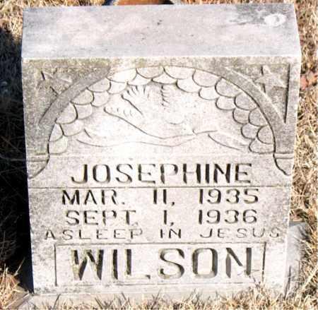 WILSON, JOSEPHINE - Newton County, Arkansas | JOSEPHINE WILSON - Arkansas Gravestone Photos