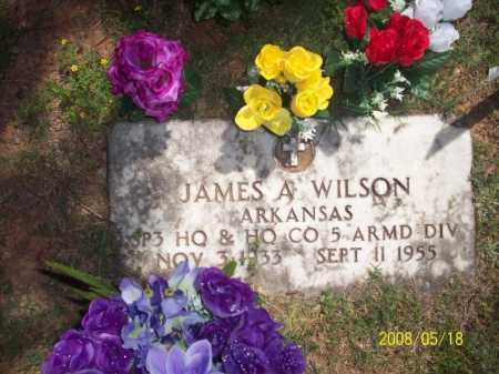 WILSON  (VETERAN), JAMES ARLO - Newton County, Arkansas | JAMES ARLO WILSON  (VETERAN) - Arkansas Gravestone Photos