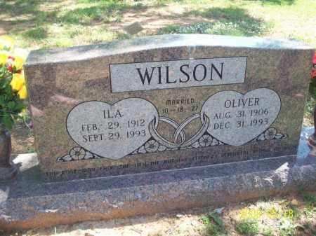 WILSON, OLIVER RAY - Newton County, Arkansas | OLIVER RAY WILSON - Arkansas Gravestone Photos