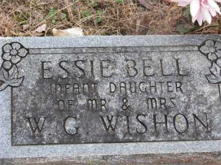 WISHON, ESSIE BELL - Newton County, Arkansas | ESSIE BELL WISHON - Arkansas Gravestone Photos