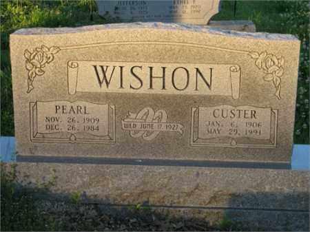 WISHON, PEARL - Newton County, Arkansas | PEARL WISHON - Arkansas Gravestone Photos