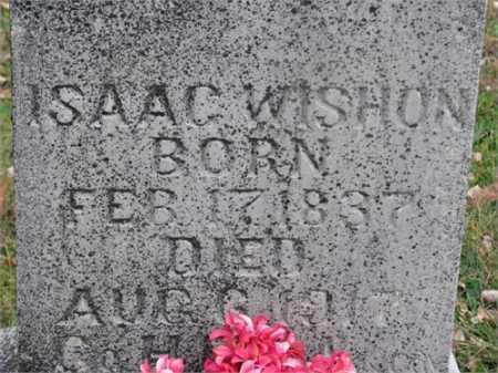 WISHON (VETERAN UNION), ISAAC COONROD - Newton County, Arkansas | ISAAC COONROD WISHON (VETERAN UNION) - Arkansas Gravestone Photos