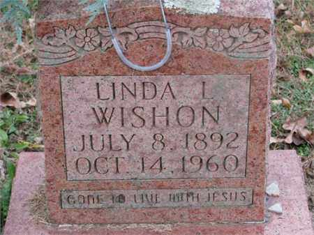 WISHON, LINDA L. - Newton County, Arkansas | LINDA L. WISHON - Arkansas Gravestone Photos