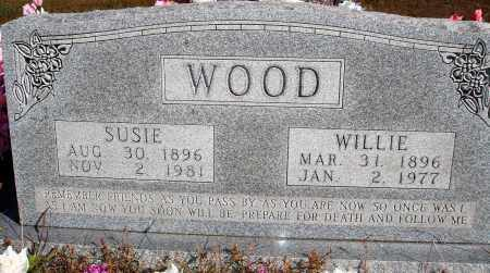 WOOD, SUSIE - Newton County, Arkansas | SUSIE WOOD - Arkansas Gravestone Photos