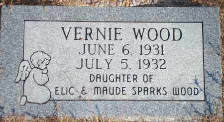 WOOD, VERNIE - Newton County, Arkansas | VERNIE WOOD - Arkansas Gravestone Photos