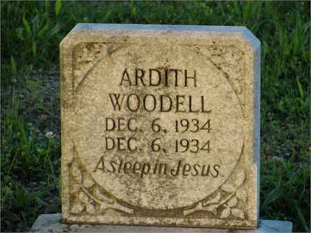 WOODELL, ARDITH - Newton County, Arkansas | ARDITH WOODELL - Arkansas Gravestone Photos