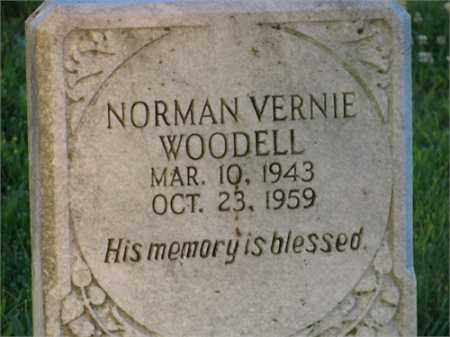WOODELL, NORMAN VERNIE - Newton County, Arkansas | NORMAN VERNIE WOODELL - Arkansas Gravestone Photos