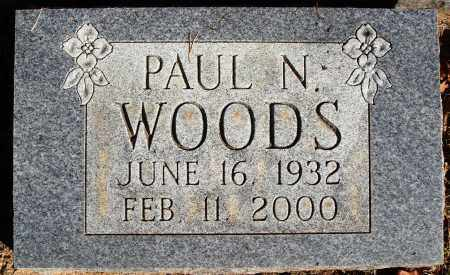 WOODS, PAUL N. - Newton County, Arkansas | PAUL N. WOODS - Arkansas Gravestone Photos