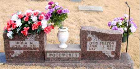 WOODWORTH, OTIS BURTON - Newton County, Arkansas | OTIS BURTON WOODWORTH - Arkansas Gravestone Photos