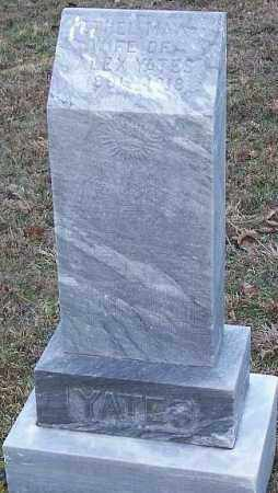YATES, ETHEL MAY - Newton County, Arkansas | ETHEL MAY YATES - Arkansas Gravestone Photos