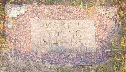 YOUNG, MARK L. - Newton County, Arkansas | MARK L. YOUNG - Arkansas Gravestone Photos