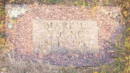 YOUNG, MARK L. - Newton County, Arkansas   MARK L. YOUNG - Arkansas Gravestone Photos