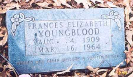 YOUNGBLOOD, FRANCIS ELIZABETH - Newton County, Arkansas | FRANCIS ELIZABETH YOUNGBLOOD - Arkansas Gravestone Photos