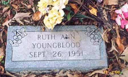 YOUNGBLOOD, RUTH ANN - Newton County, Arkansas | RUTH ANN YOUNGBLOOD - Arkansas Gravestone Photos