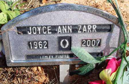 ZARR, JOYCE ANN - Newton County, Arkansas | JOYCE ANN ZARR - Arkansas Gravestone Photos